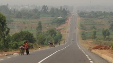 Burundi surprised us with a good road
