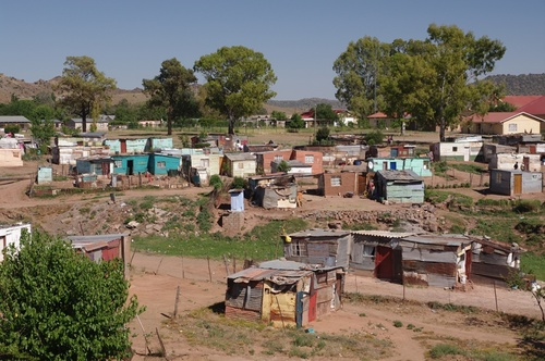 Black settlements can look even like this